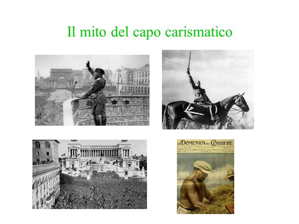 Il mito del capo carismatico