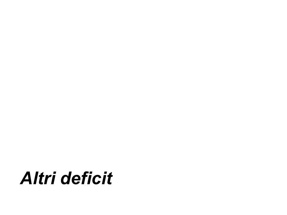 Altri deficit
