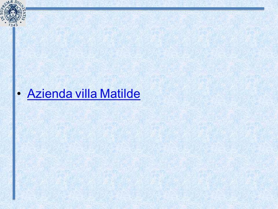 Azienda villa Matilde