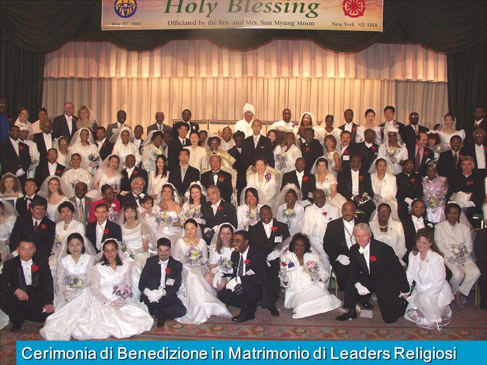 Cerimonia di Benedizione in Matrimonio di Leaders Religiosi