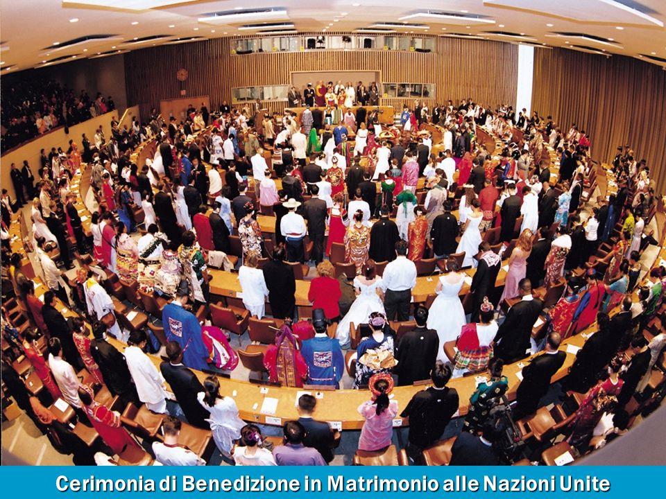 Cerimonia di Benedizione in Matrimonio alle Nazioni Unite per la Pace Mondiale Cerimonia di Benedizione in Matrimonio alle Nazioni Unite per la Pace Mondiale