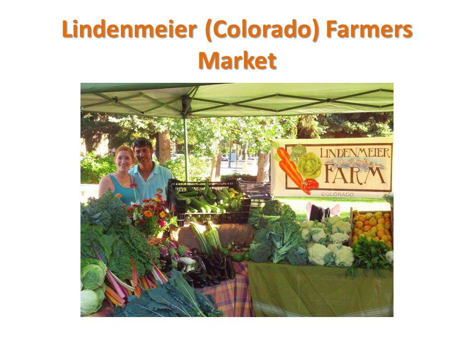 Lindenmeier (Colorado) Farmers Market