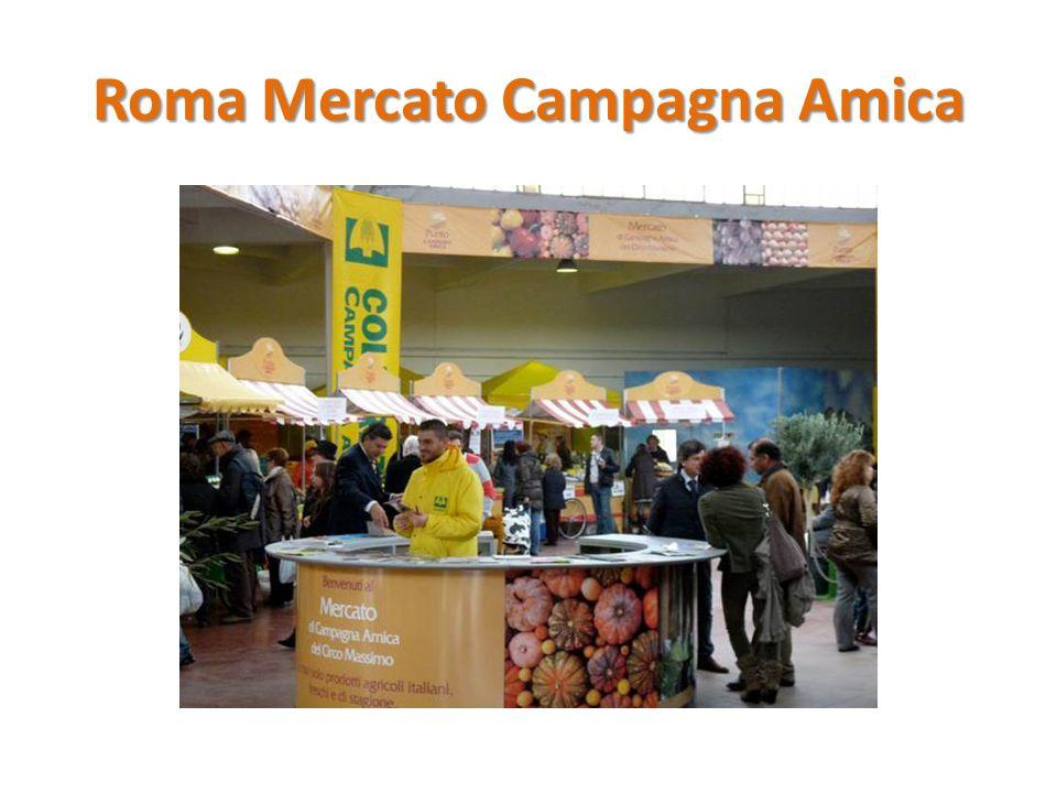 Roma Mercato Campagna Amica
