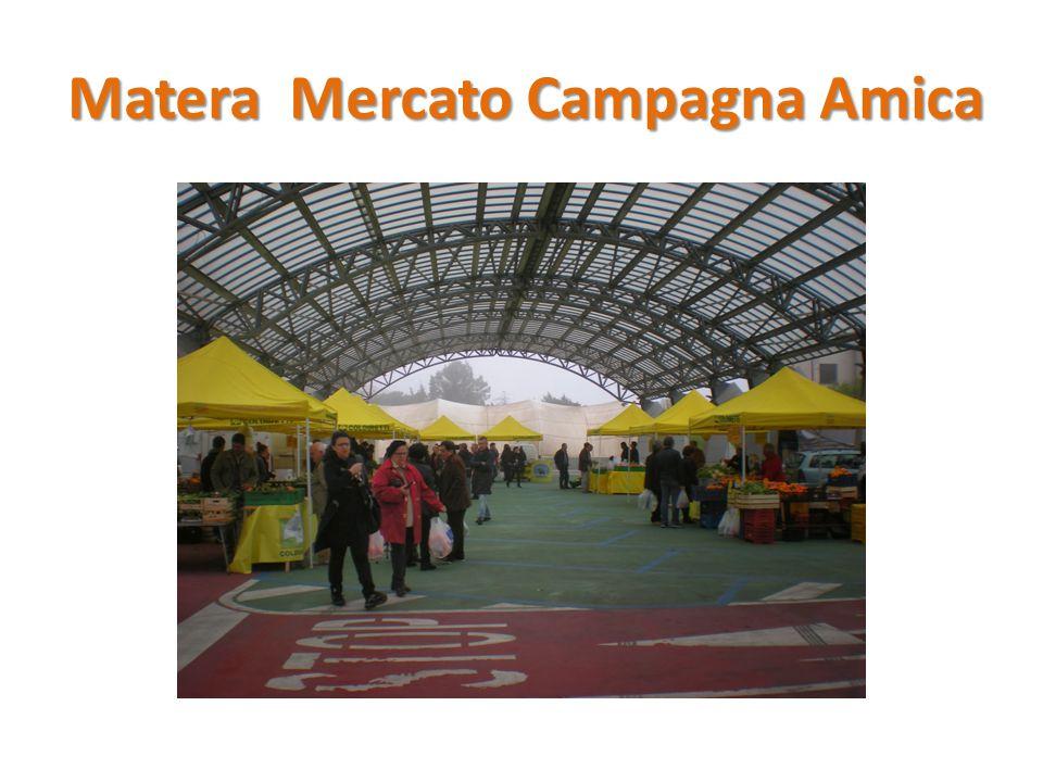 Matera Mercato Campagna Amica