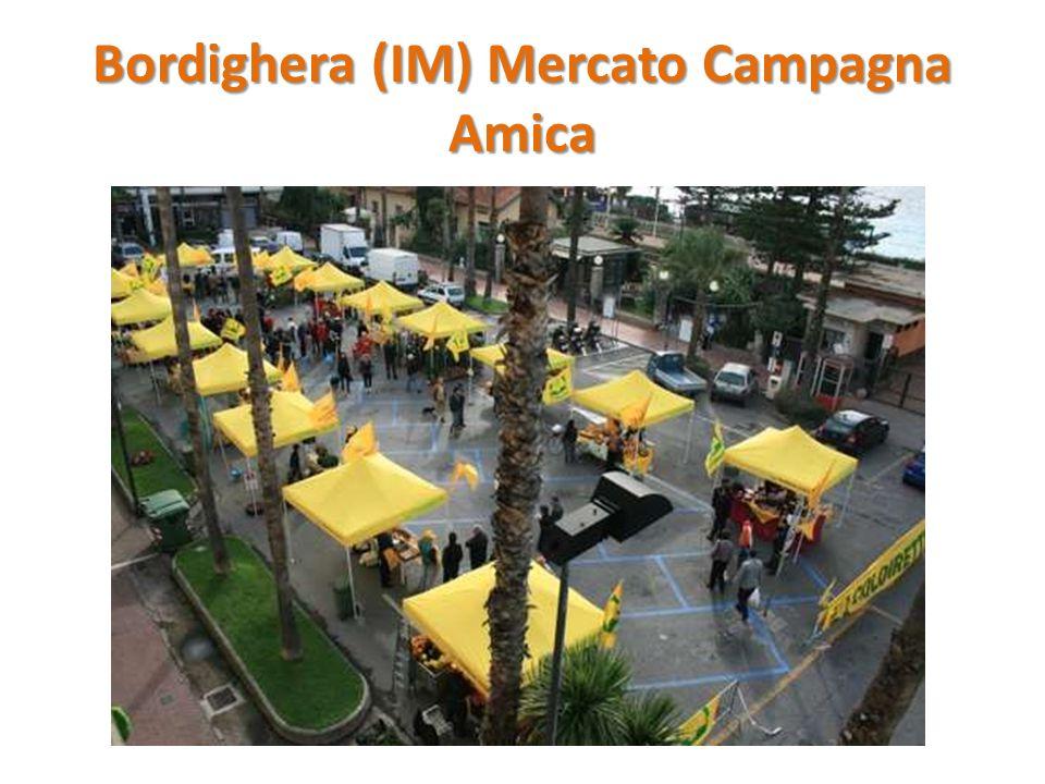 Bordighera (IM) Mercato Campagna Amica