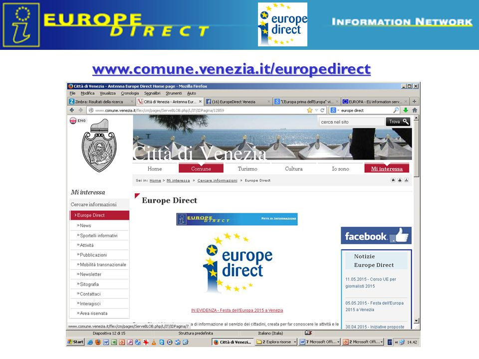 www.comune.venezia.it/europedirect
