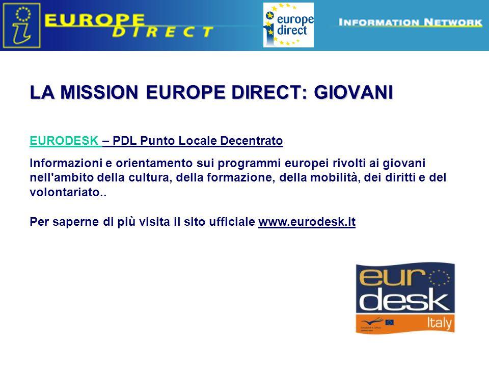 Europe Direct information relays 2014-2020 NUOVA PROGRAMMAZIONE COMUNITARIA EDIC Verona è specializzato nella ricerca dei finanziamenti comunitari, nazionali e regionali.