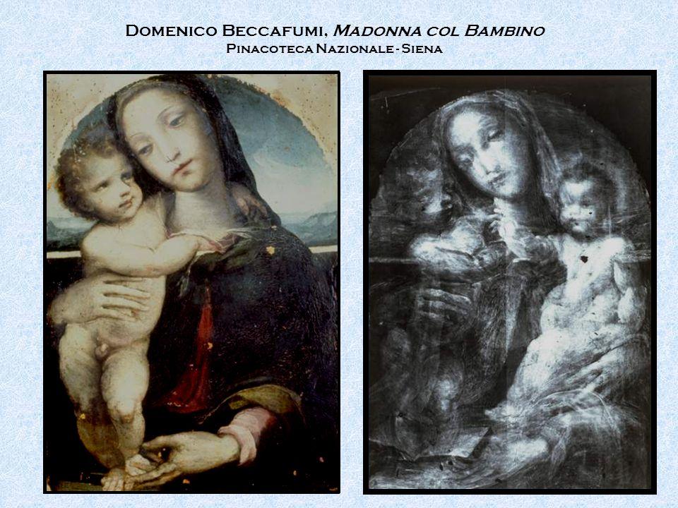 Domenico Beccafumi, Madonna col Bambino Pinacoteca Nazionale - Siena