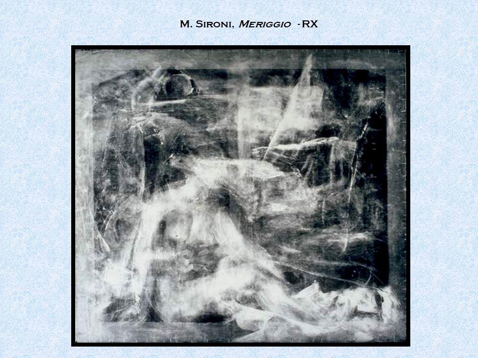 M. Sironi, Meriggio - RX