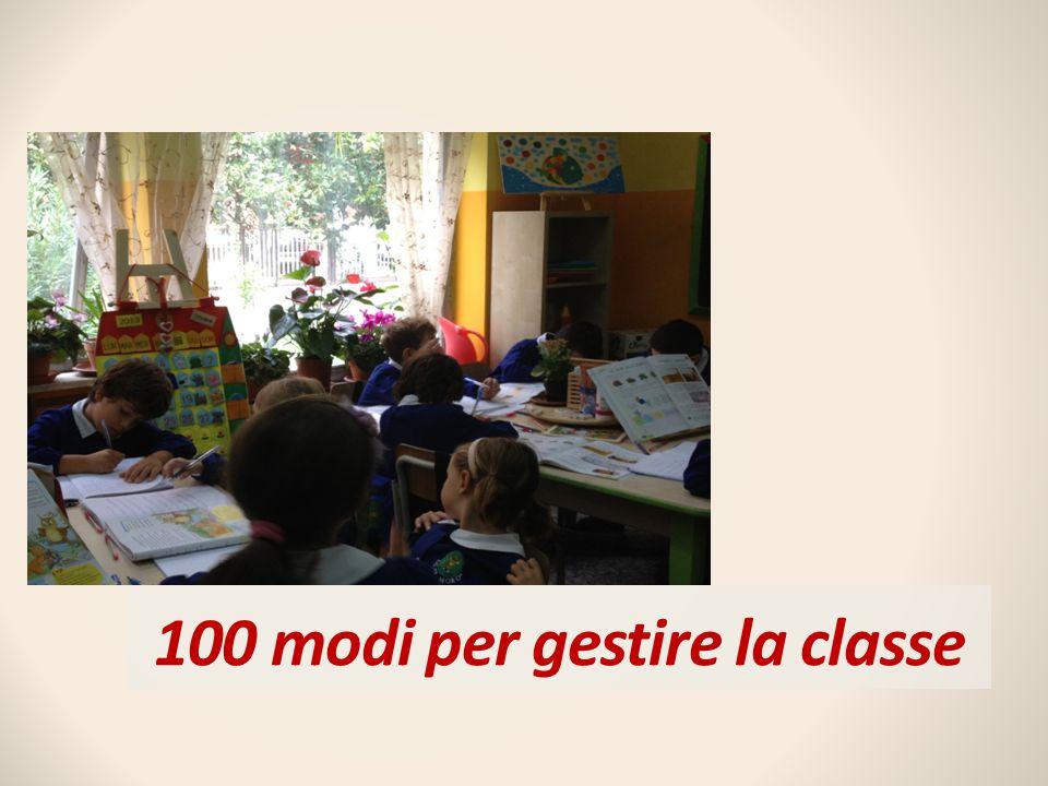 100 modi per gestire la classe