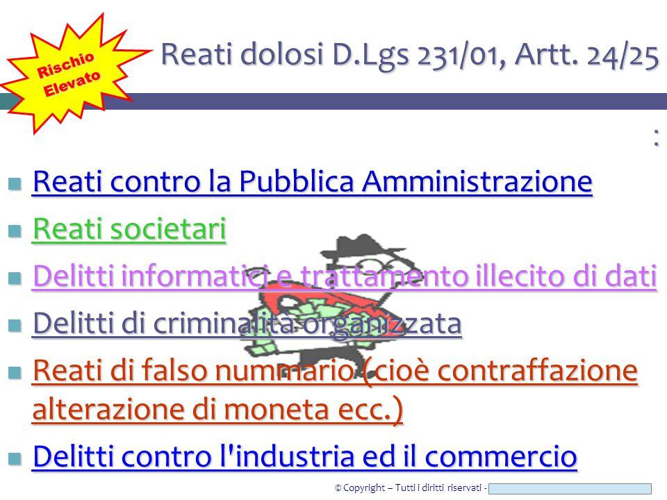 © Copyright – Tutti i diritti riservati - Studio Legale CAROZZI & ASSOCIATI : Reati contro la Pubblica Amministrazione Reati contro la Pubblica Ammini