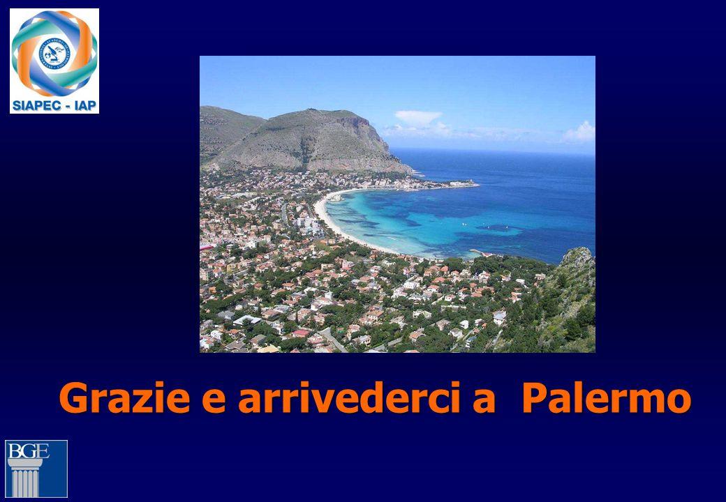 Grazie e arrivederci a Palermo