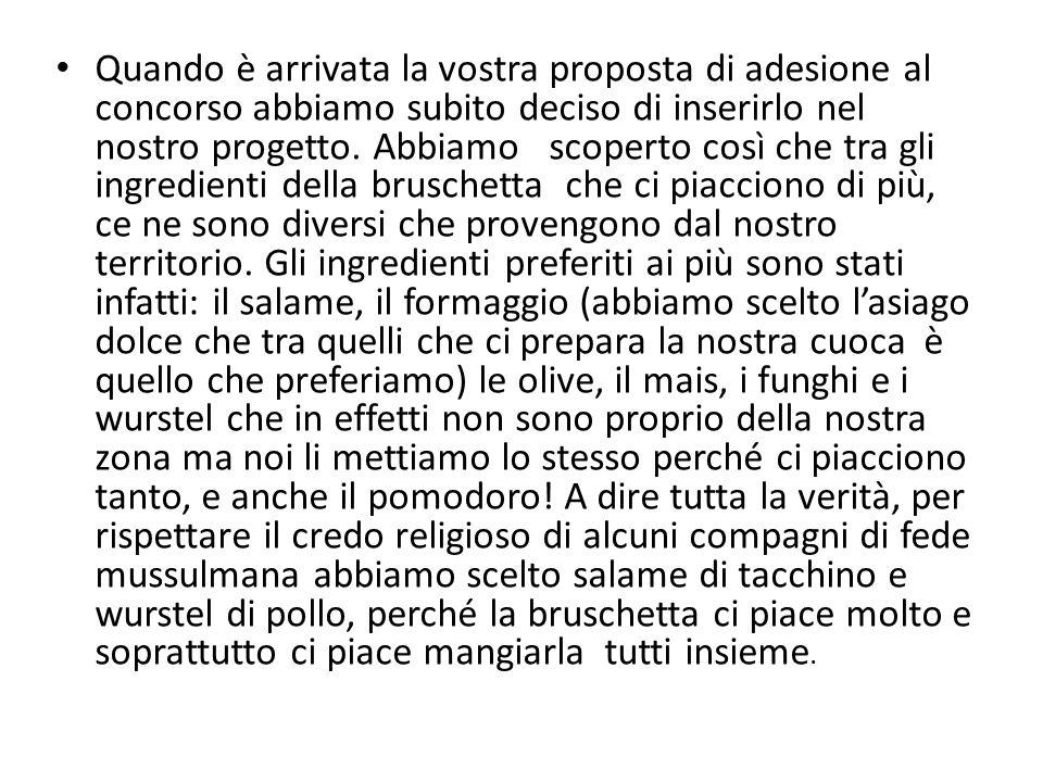 Ciao, siamo i bambini e le insegnanti della scuola dell'infanzia di Alonte, un paesino in provincia di Vicenza.