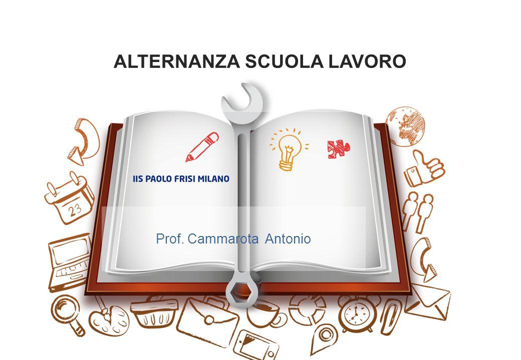 ALTERNANZA SCUOLA LAVORO Prof. Cammarota Antonio