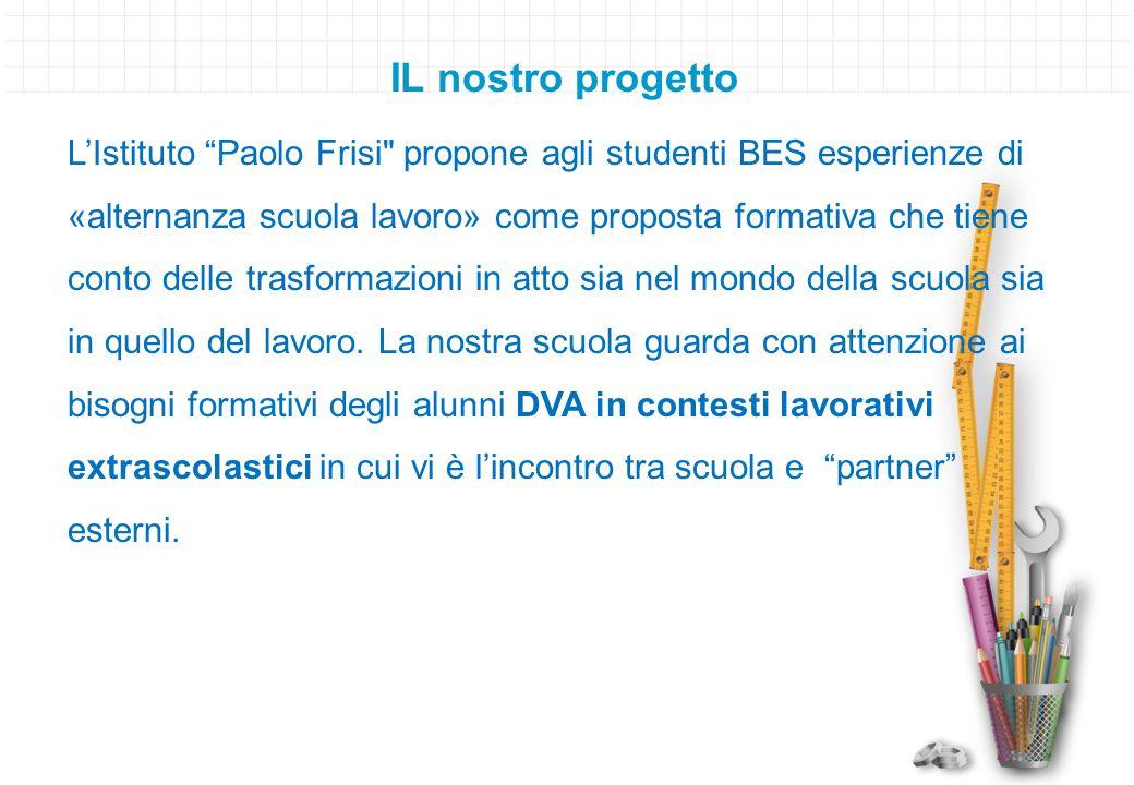 """IL nostro progetto L'Istituto """"Paolo Frisi"""