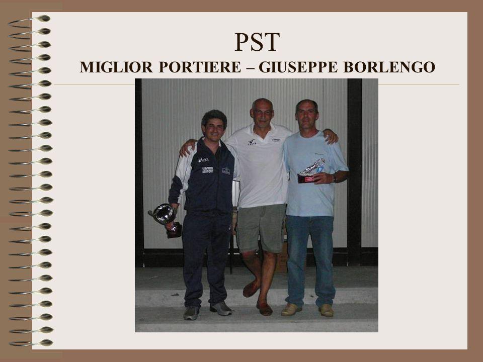 PST MIGLIOR PORTIERE – GIUSEPPE BORLENGO