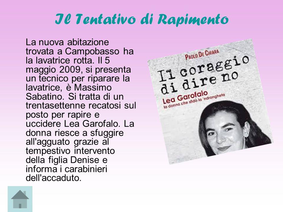 Vita Privata Figlia di Antonio Garofalo e Santina Miletta, Lea rimase orfana all età di nove mesi in quanto suo padre venne ucciso nella cosiddetta faida di Pagliarelle .