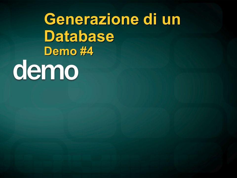 Generazione di un Database Demo #4