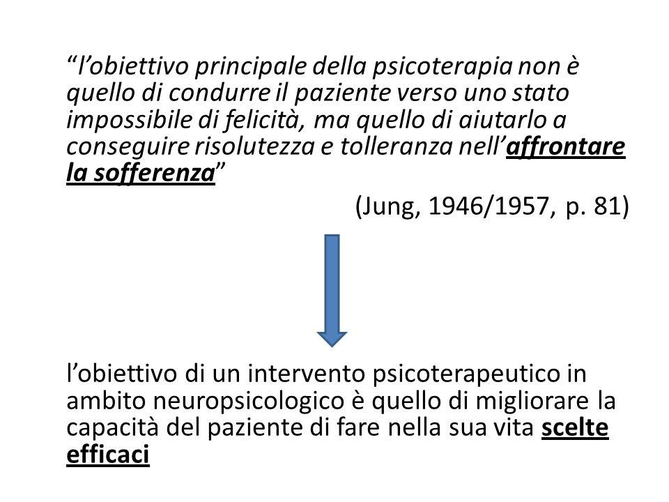 """""""l'obiettivo principale della psicoterapia non è quello di condurre il paziente verso uno stato impossibile di felicità, ma quello di aiutarlo a conse"""