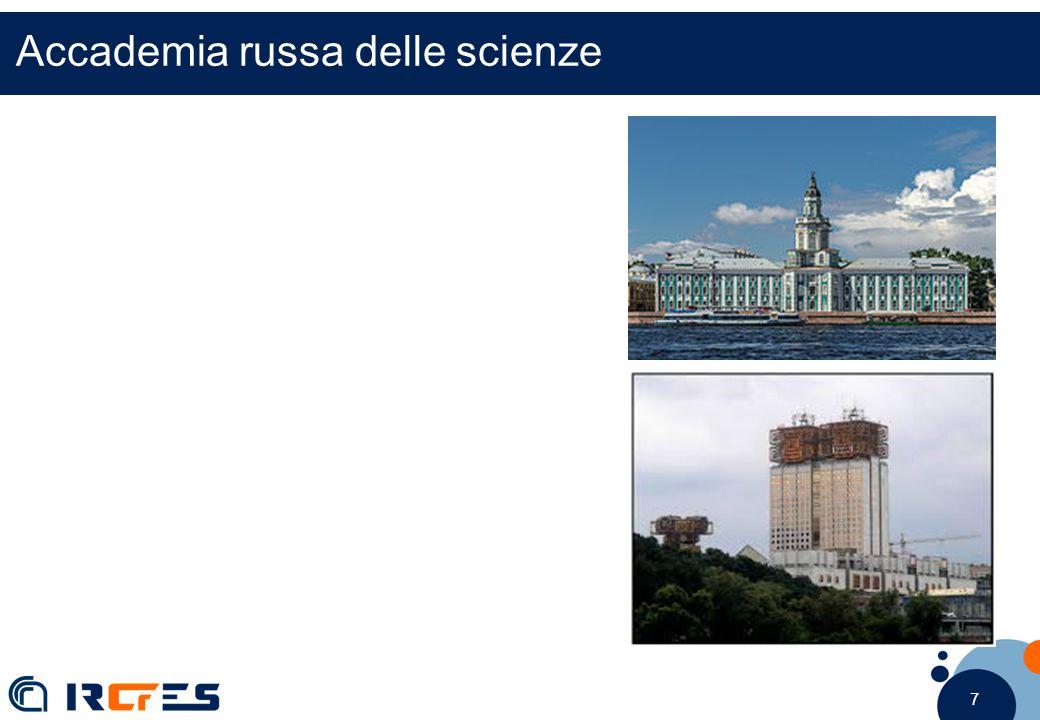 7 7 7 Accademia russa delle scienze