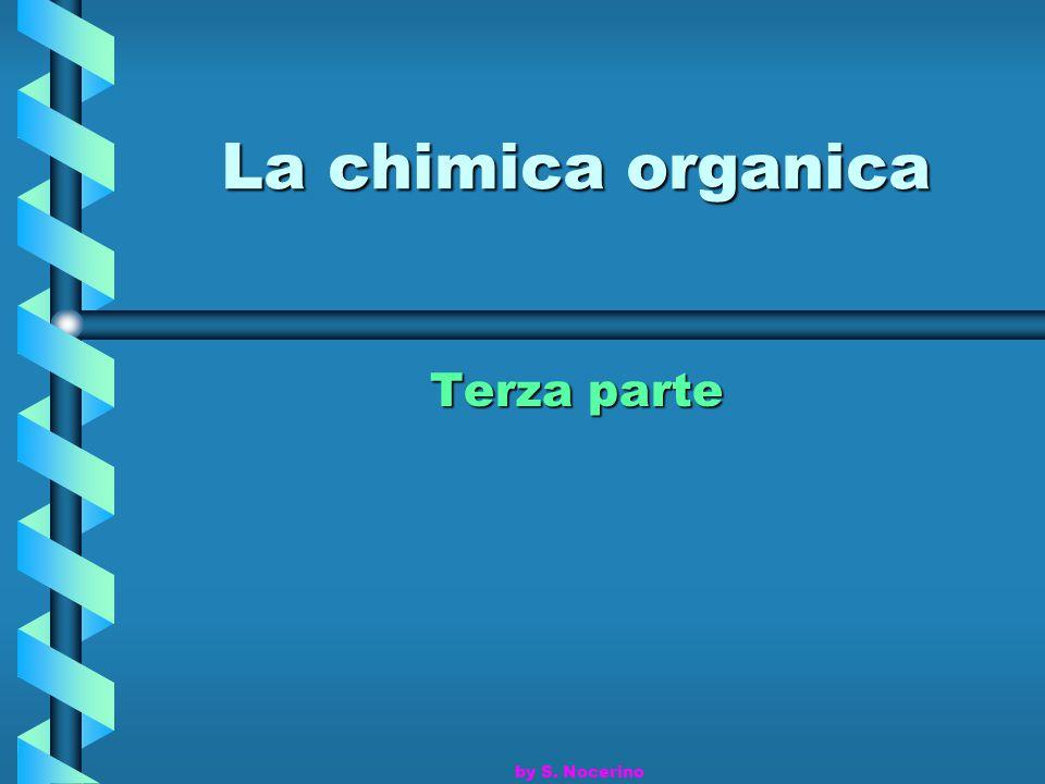 I composti organici sono caratterizzati dalla presenza di atomi di carbonio.
