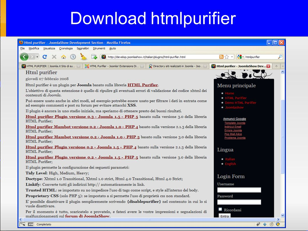 Download htmlpurifier