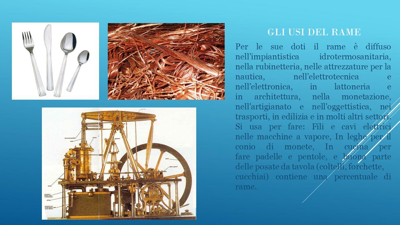 IL FERRO Il ferro è un metallo estratto da minerali: non si rinviene ferro puro in natura (nativo).