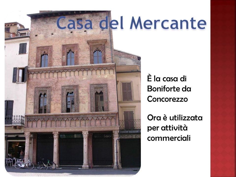 È la casa di Boniforte da Concorezzo Ora è utilizzata per attività commerciali