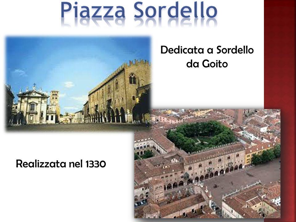Dedicata a Sordello da Goito Realizzata nel 1330