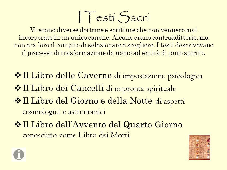 I Testi Sacri Vi erano diverse dottrine e scritture che non vennero mai incorporate in un unico canone. Alcune erano contraddittorie, ma non era loro