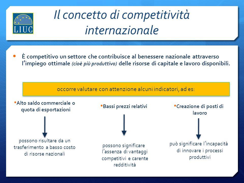 13 Elevata Intensità Competitiva  Le opportunità di espansione si spostano sui mercati ad alto tasso di sviluppo (es.