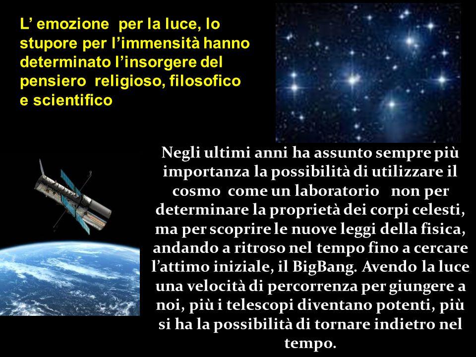 L'astronomia è la più antica delle scienze naturali, ed è sempre stata utilizzata per creare un sistema cosmogonico, punto di riferimento per civiltà