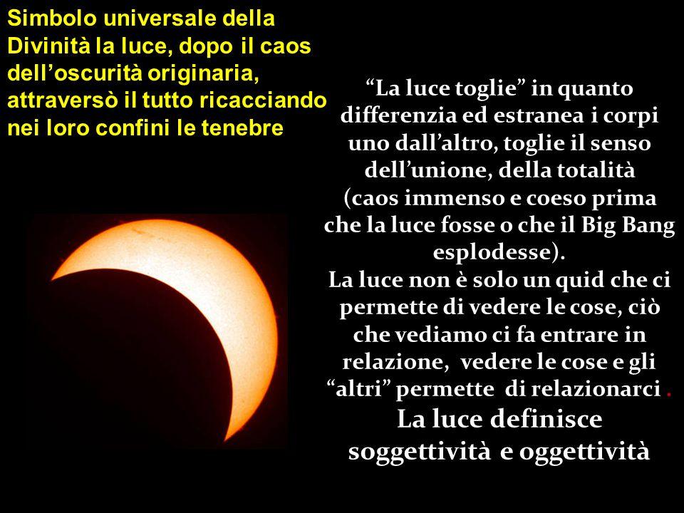 La coppia luce /tenebre formano un opposizione archetipica comune a tutte le letterature Nella letteratura greca classica la luce significa, in senso