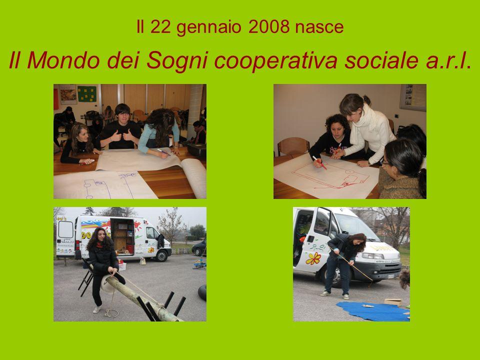 Il 22 gennaio 2008 nasce Il Mondo dei Sogni cooperativa sociale a.r.l.