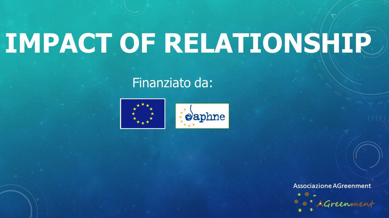 IMPACT OF RELATIONSHIP Finanziato da: Associazione AGreenment
