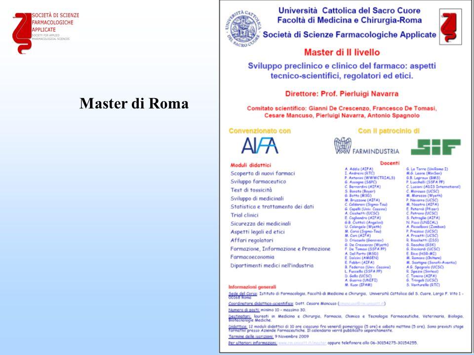 23 Master di Roma