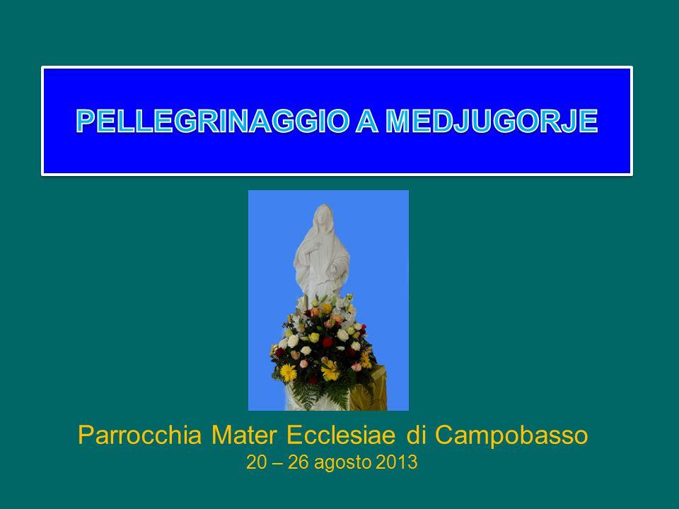 Parrocchia Mater Ecclesiae di Campobasso 20 – 26 agosto 2013