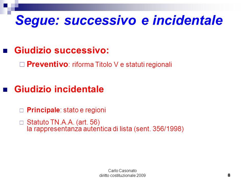 Carlo Casonato diritto costituzionale 20099 La composizione della Corte Neutralità rispetto a  Politica: requisiti tecnici (art.