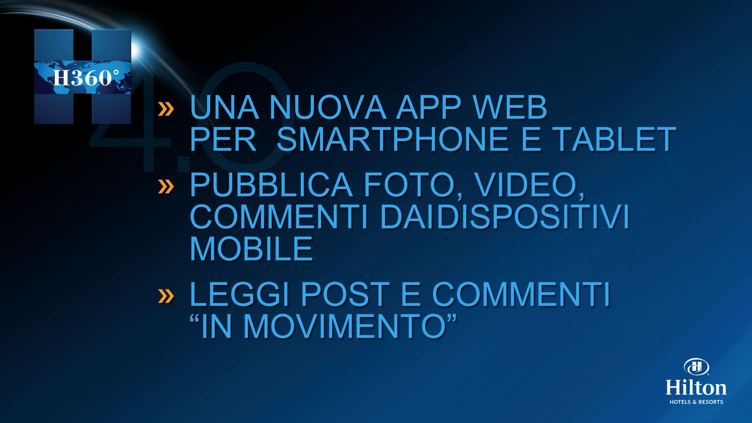 UNA NUOVA APP WEB PER SMARTPHONE E TABLET PUBBLICA FOTO, VIDEO, COMMENTI DAIDISPOSITIVI MOBILE LEGGI POST E COMMENTI IN MOVIMENTO UNA NUOVA APP WEB PER SMARTPHONE E TABLET PUBBLICA FOTO, VIDEO, COMMENTI DAIDISPOSITIVI MOBILE LEGGI POST E COMMENTI IN MOVIMENTO
