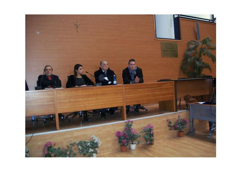 27 gennaio 2015: Sala Consiliare X Municipalità – Fuorigrotta/Bagnoli