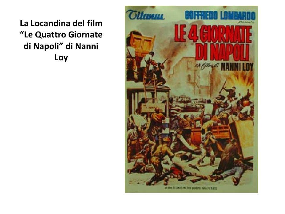 La Locandina del film Le Quattro Giornate di Napoli di Nanni Loy