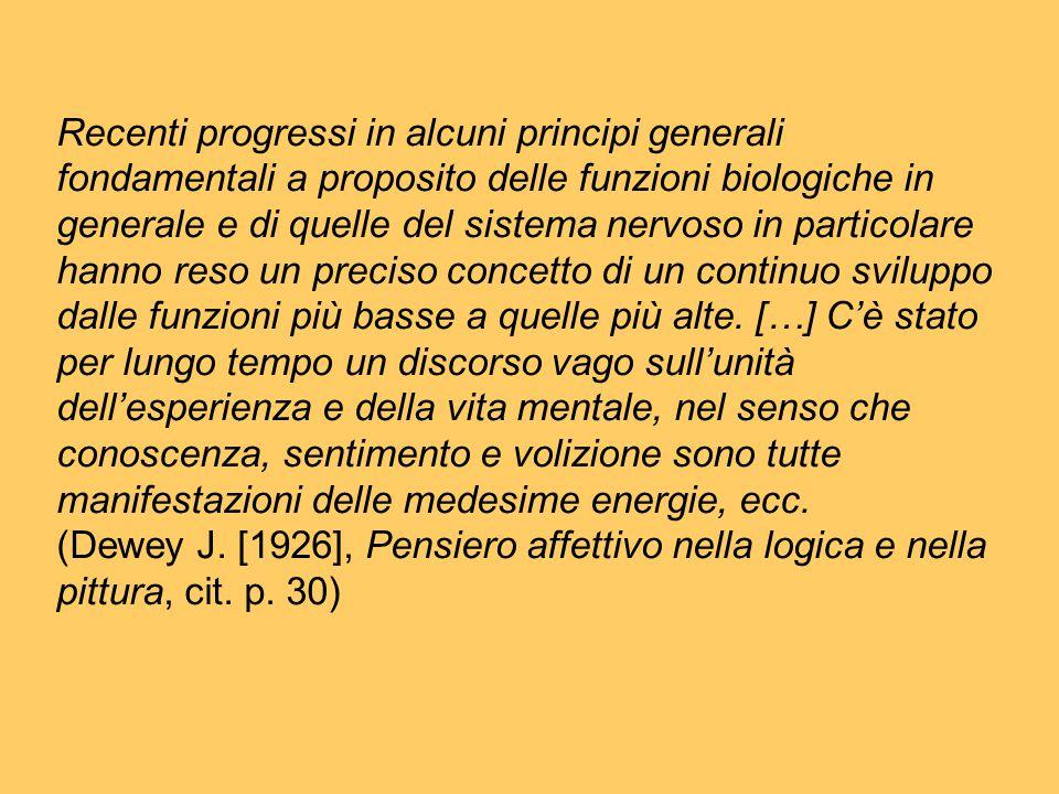 Recenti progressi in alcuni principi generali fondamentali a proposito delle funzioni biologiche in generale e di quelle del sistema nervoso in partic