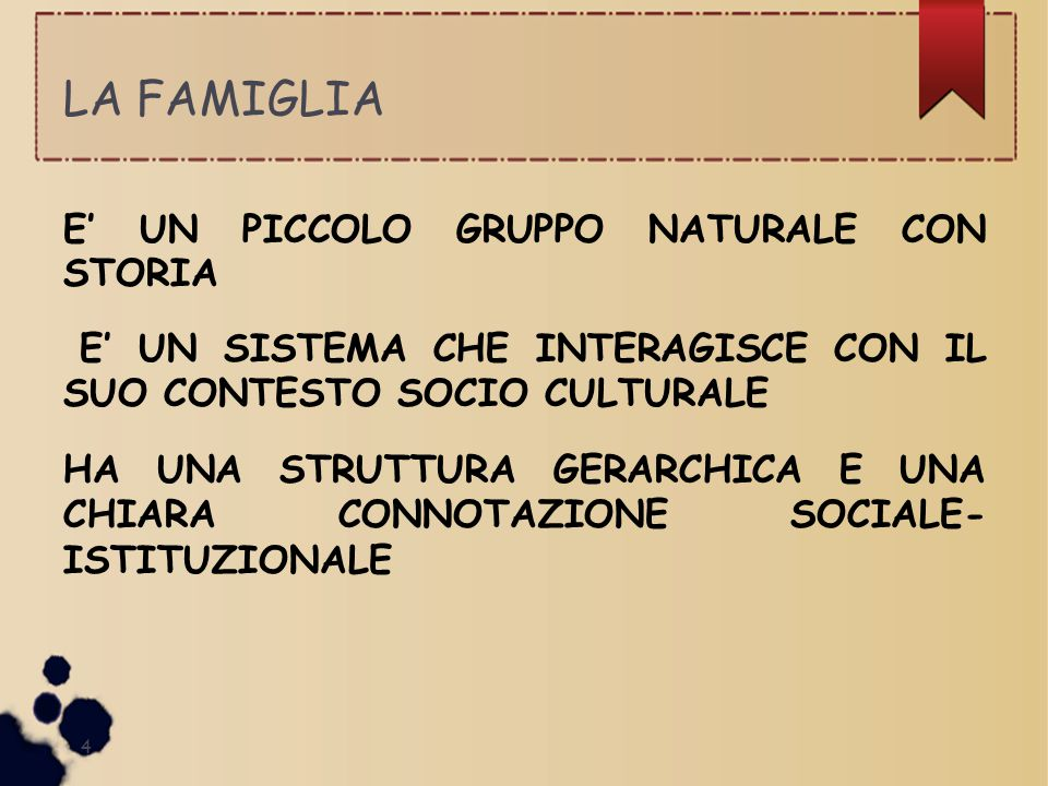 Famiglie Bilanciate (S.Minuchin) 15 Manifestano abilità nel risolvere tensioni.