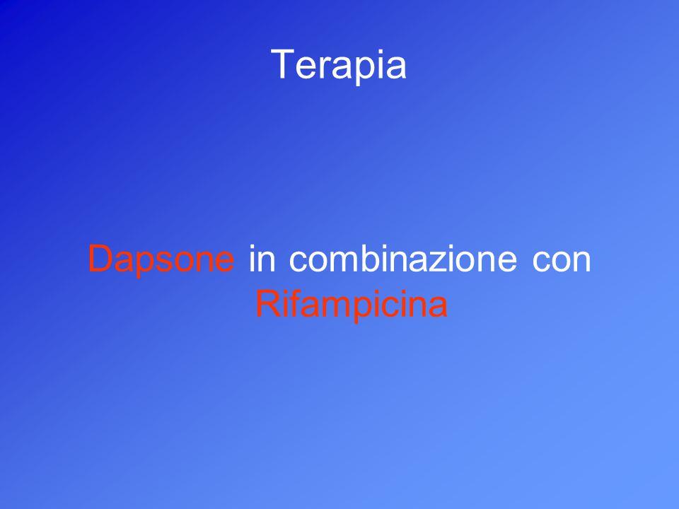 Terapia Dapsone in combinazione con Rifampicina