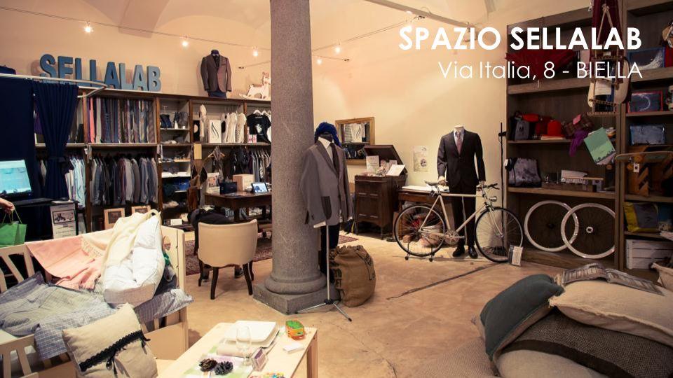 SPAZIO SELLALAB Via Italia, 8 - BIELLA