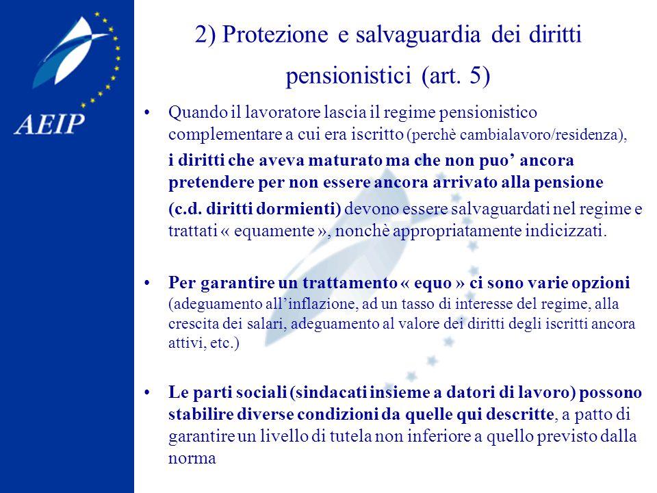 3) Nuove eccezioni e deroghe al campo di applicazione (art.
