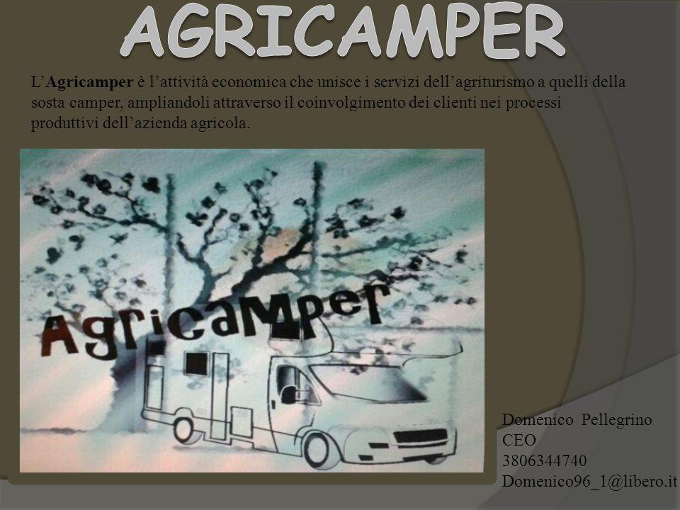 L'Agricamper è l'attività economica che unisce i servizi dell'agriturismo a quelli della sosta camper, ampliandoli attraverso il coinvolgimento dei cl
