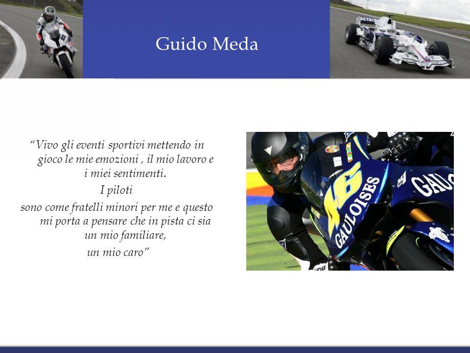 Guido Meda Vivo gli eventi sportivi mettendo in gioco le mie emozioni, il mio lavoro e i miei sentimenti.