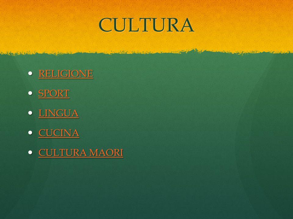 CULTURA RELIGIONE RELIGIONE RELIGIONE SPORT SPORT SPORT LINGUA LINGUA LINGUA CUCINA CUCINA CUCINA CULTURA MAORI CULTURA MAORI CULTURA MAORI CULTURA MA