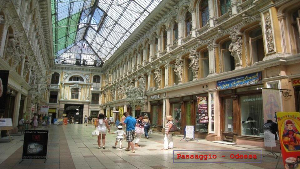Scalinata Potëmkin - Odessa